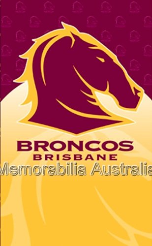 Broncos NRL Greeting Card