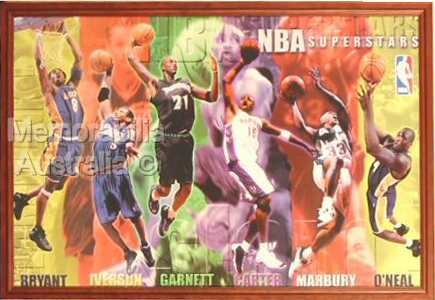 NBA Superstars Poster