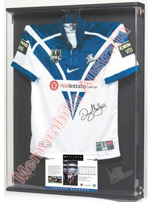 'Halligan Above & Beyond' Signed Jersey
