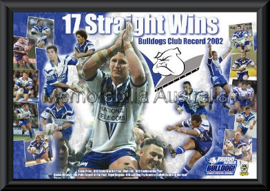 Canterbury Bulldogs 17 Straight Wins