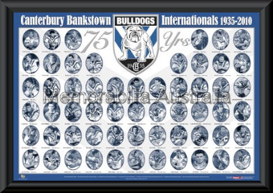 Canterbury Bulldogs 75 Year Internationals