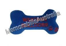 Western Bulldogs AFL Dog Chew Toy