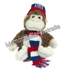 Western Bulldogs AFL 24cm Monkey
