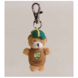 Cricket Bear Keyring