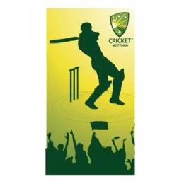 Cricket Beach Towel - Cricketer