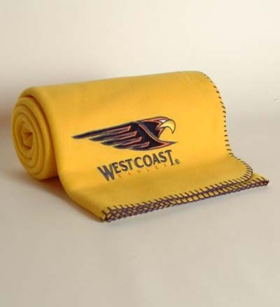West Coast Eagles Throw Rug