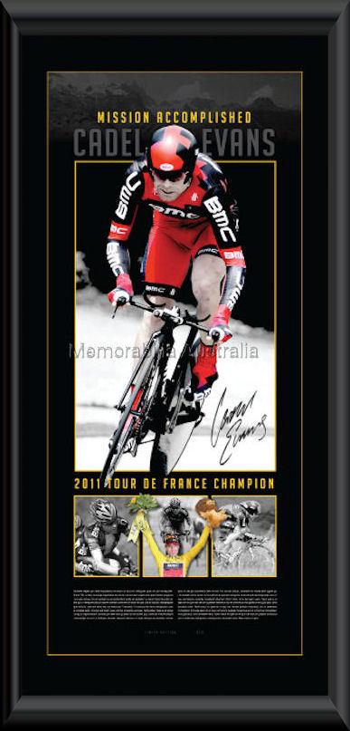Cadel Evans 2011 Tour Vertiramic