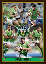 Canberra Raiders  Star Series Framed
