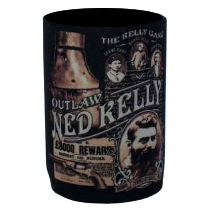 Ned Kelly Can Cooler - Kelly Gang