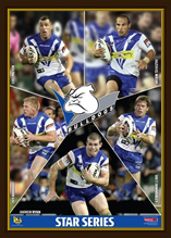 Canterbury Bulldogs  Star Series Framed