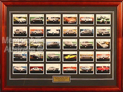1960s Holden Trading Card Set