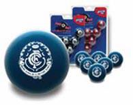Carlton Blues Pool Ball Set