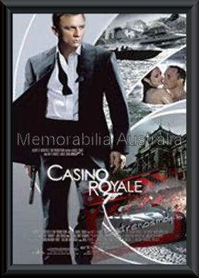 Casino Royale Poster Framed