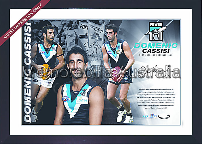 Cassisi Signed AFL Starshot