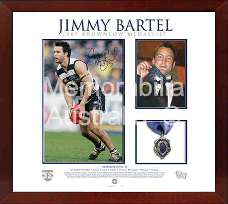 Jimmy Bartel Brownlow Medal Celebration Collage