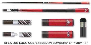 Essendon Bombers Pool Cue