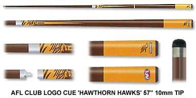 Hawthorn Hawks Pool Cue