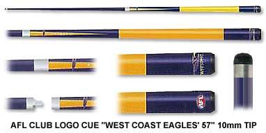 West Coast Eagles Pool Cue