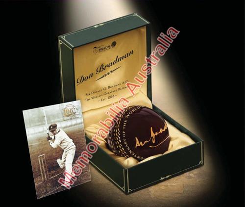 Bradman Centenary Ceramic Cricket Ball