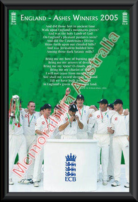 Ashes Winners 2005