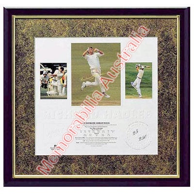 Sir Richard Hadlee Framed Print