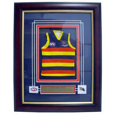 Adelaide Crows Framed Mini Jersey