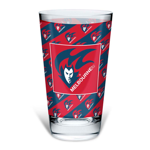 Melbourne Demons Conical Glass