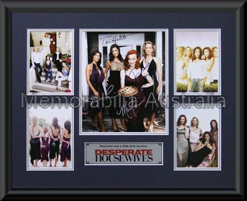 Desperate Housewives LE Montage Framed