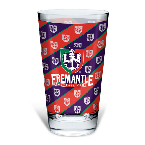 Fremantle Dockers Conical Glass