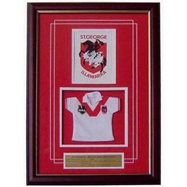 Dragons Framed Logo Mini Jersey
