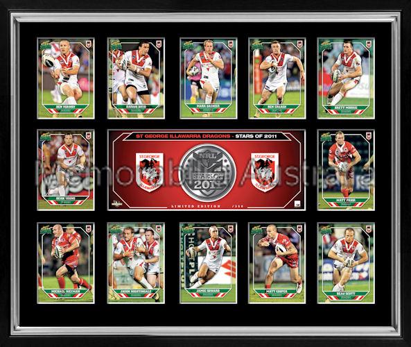 Dragons 2011 Medallion Print Framed