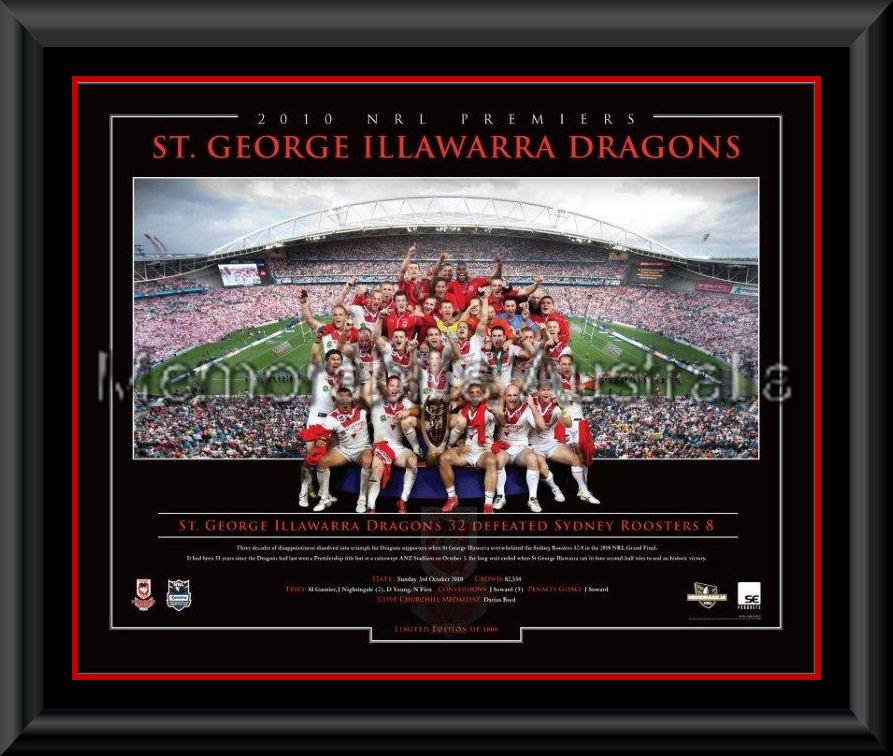 Dragons LE Premiers Print