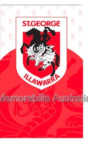 St George Illawarra Dragons NRL Greeting Card