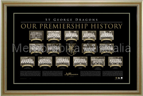 Dragons Premiership History LE