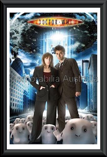 Dr Who Poster Framed