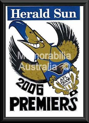 2006 West Coast Eagles Premiership WEG Poster