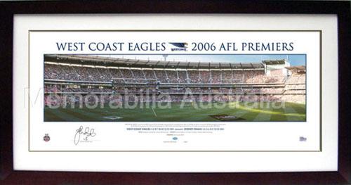 2006 AFL Grand Final Panoramic Print