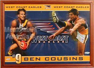 Ben Cousins Framed Poster