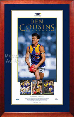 Ben Cousins 200 Game Print