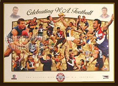 Celebrating WA Football Print