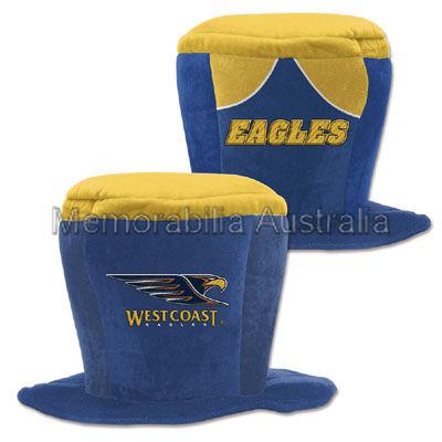 West Coast Eagles AFL Fun Hat