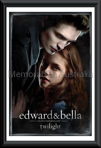 Ed And Bella Twilight Poster Framed