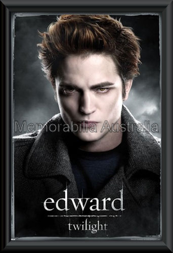 Edward Twilight Poster Framed