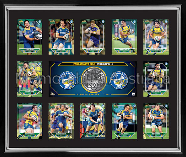 Parramatta Eels Framed Photos Print Poster Limited Edition: Rugby League :: Sports