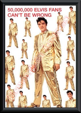 Elvis Presley Gold Suit 2