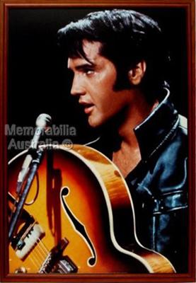 Framed Elvis Print
