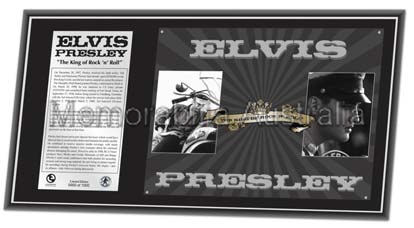 Elvis King LE Collectors Plaque