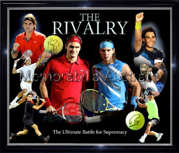 Federer and Nadal Signed LE