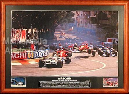 Airborne - 1995 Monaco Grand Prix