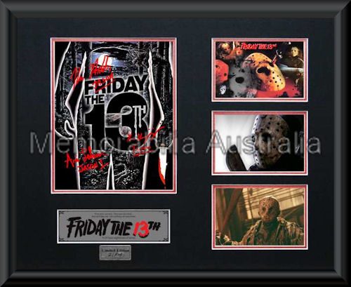 Friday The 13th LE Montage Framed